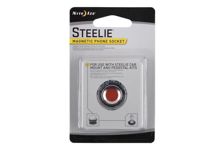 NITE IZE STEELIE SMALL MAGNETIC TABLET SOCKET & CLEANING PAD STSM11R7