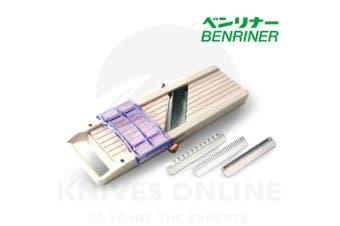 BENRINER No1 Japanese Mandoline Slicer Sharp Adjustable Vegetable Garnish 64mm