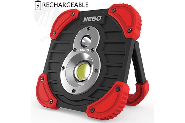 NEBO TANGO RECHARGEABLE 1000 LUMEN POWER BANK LED FLASHLIGHT WORK SPOT LIGHT 89535