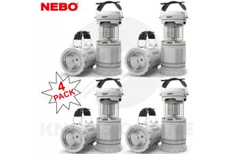 NEBO Z-BUG 4 PACK MOSQUITO ZAPPER LED LANTERN + SPOTLIGHT LIGHT INDOOR OUTDOOR 89524