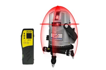 Maxiline 4V4H Cross Line Laser Level with Receiver