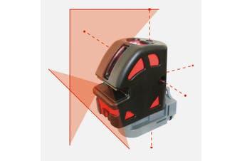 Maxiline LP106C Cross Line Laser Level with Wall Bracket Glasses Target