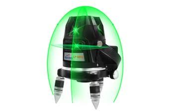 Maxiline 5 Green Beams Self Leveling Cross Line Laser Level