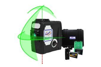 Maxiline Green Beam Cross Line Laser Level Plumb Dot
