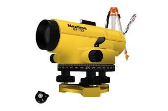 Maxiline BT32 Automatic 35X Magnification Dumpy Level + Tripod Staff