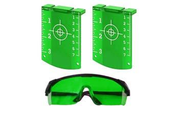 Maxiline Laser Target x2 + Laser Glasses Green Beam