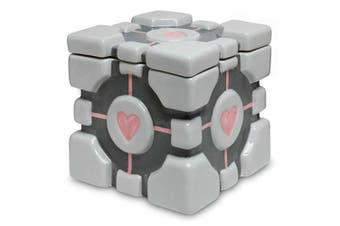 Think Geek Portal Companion Cube Ceramic Cookie Jar