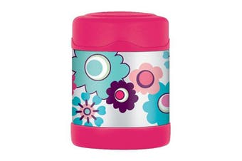 Thermos Stainless Steel Kids Flower Funtainers - Food Jar