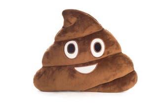 Koolface Velour Cushion - Smiling Poo