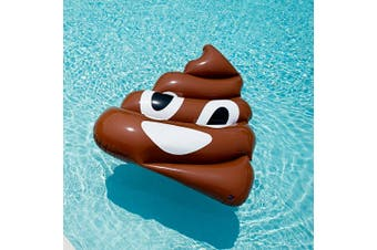 Giant Inflatable Emoji Poop Floatie