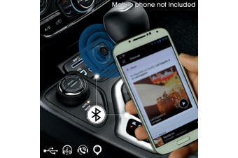 HandsFree FM Bluetooth Kit w/ USB Charger
