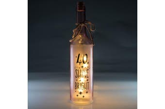 Wishlight Bottle - 40th Birthday