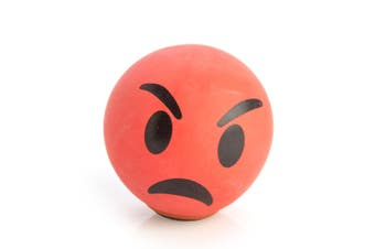 Koolface Angry Face Stress Ball