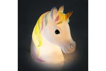 Animal Table Lamp - Rainbow Unicorn