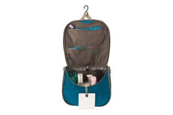 STS Travelling Light Hanging Toiletry Bag - Blue/Grey Large