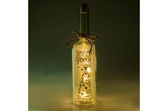 Wishlight Bottle - Seasons Greetings