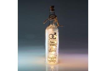Wishlight Bottle - Two Stars