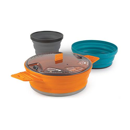 SML ORANGE Sea To Summit X-Seal /& Go Camping Outdoor Food Container