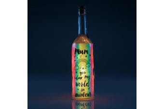 Iridescent Wishlight Bottle - Mum