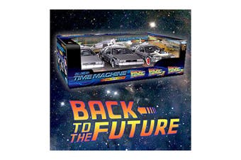 Back To the Future Delorean Trilogy Gift Set