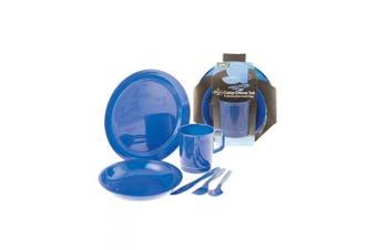 360 Degrees Dinner Set Blue