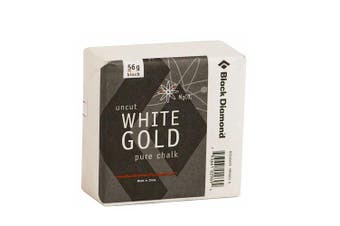 Black Diamond White Gold Climbing Chalk - Block 56g