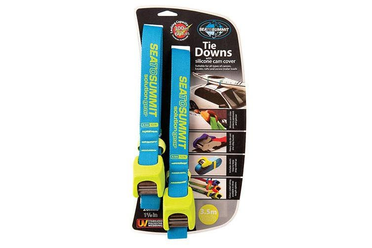 Sea to Summit Solution Tie Downs w/ Silicone Cam Cover - 3.5m