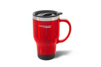 Thermos 470mL S/Steel Inner (Plastic Trvl Mug)