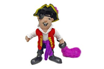 Wiggles 25cm Captain Feathersword Plush Toy