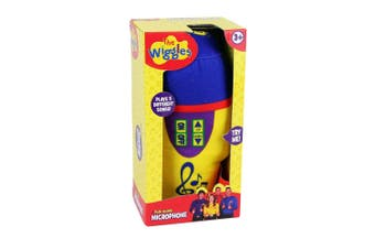 Wiggles Plush Microphone w/ Sound