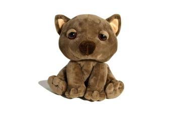 18cm Sitting Wild Animal - Wombat