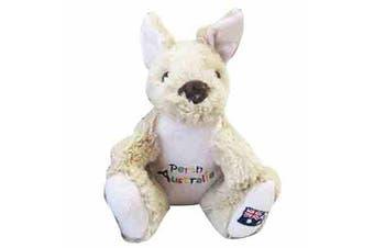 20cm Kangaroo Plush w/ Embroidery - Perth