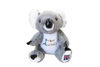 22cm Koala Plush w/ Embroidery - Brisbane