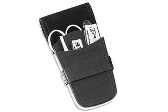 Comoy M10 5pc Manicure Set (Black/Chrome)