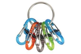 Nite Ize KeyRing Locker w/ Coloured S-Biners