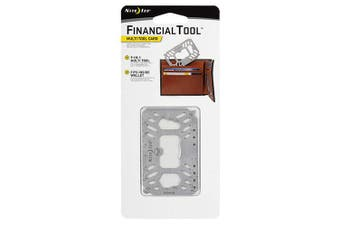 Nite Ize Financial Tool Multi-Tool Card - Stainless Steel