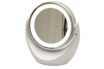 TechBrands Dual Sided Magnifying Mirror