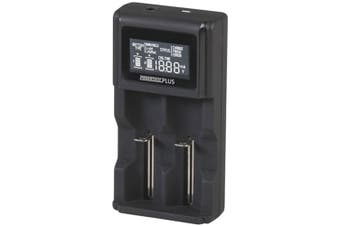 TechBrands Dual-Channel Li-ion / Ni-MH Battery Charger