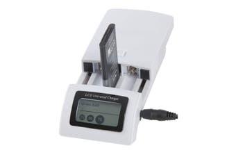 TechBrands Universal Li-ion/Ni-Cd/Ni-MH Battery Charger