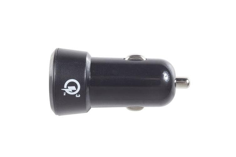 TechBrands 3A Quick Charge 3.0 USB Car Cigarette Lighter Adaptor