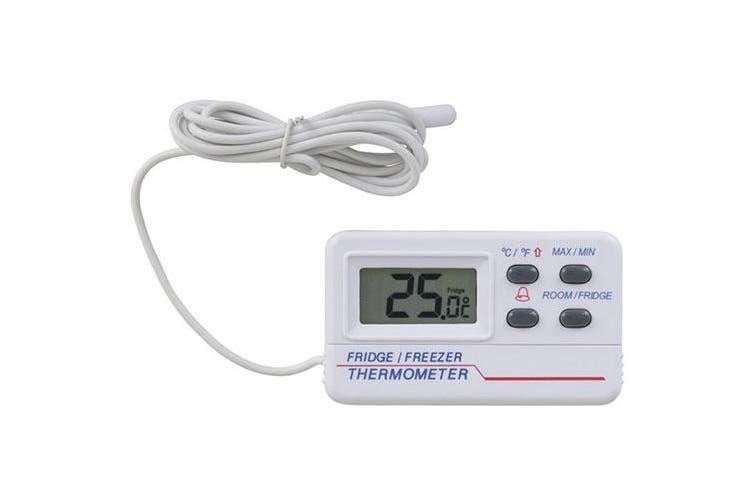 TechBrands Digital Thermometer for Fridge or Freezer