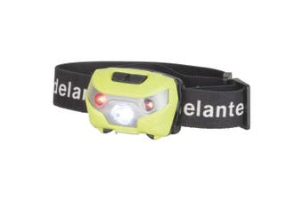 TechBrands Rechargeable 180 Lumen Head Torch w/ Red LEDs