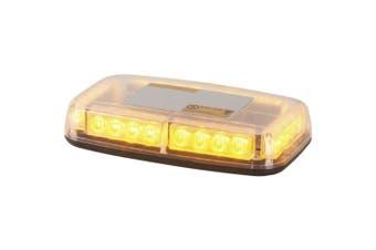 TechBrands 12/24VDC LED Strobe Light w/ Magnetic or Permanent Base