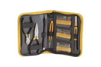 TechBrands 35 Piece Multi-purpose Precision Tool Kit w/ Vinyl Case