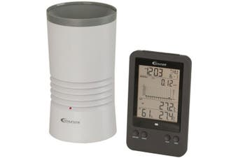 TechBrands Digital Rain Gauge w/ Temperature