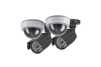 TechBrands Dummy Security Camera - Anti-theft Kit