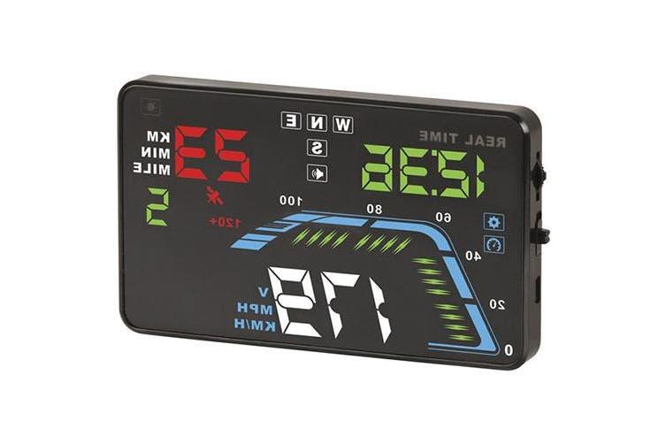 TechBrands 12/24VDC Head-Up GPS Display - 5.5 Inch