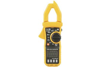 TechBrands True RMS Clamp Meter - 600A AC/DC