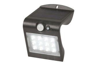 TechBrands Solar Rechargeable Light w/ Motion Sensor - 220 Lumen