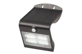TechBrands Solar Rechargeable Light w/ Motion Sensor - 400 Lumen